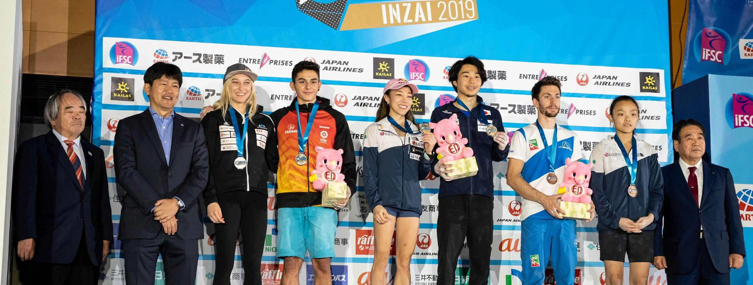 Gold for Japan, Two Medals for Korea; Season Podiums Determined