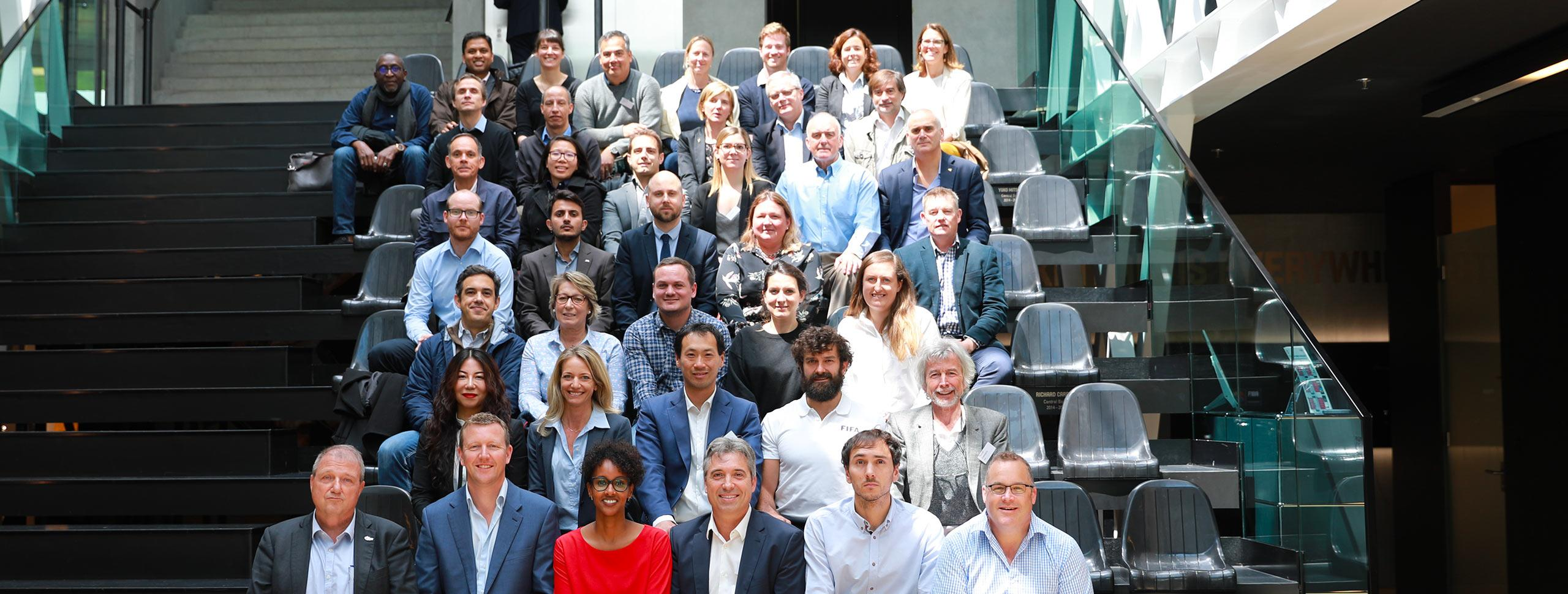 IFSC Attends Sports Development and Education Forum, Switzerland