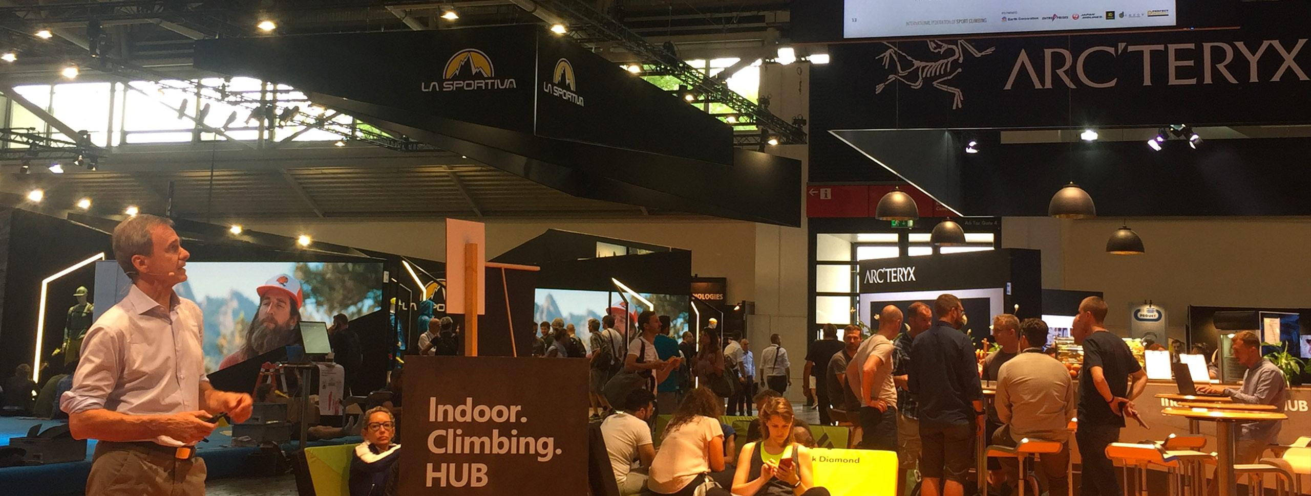 IFSC Attends the Indoor Climbing HUB at OutDoor by ISPO