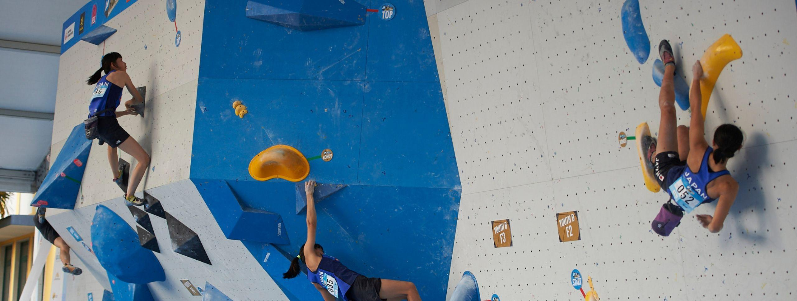 Japan Wins 8 Bouldering Medals, Wins for France, Italy and Thailand
