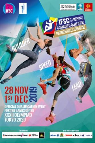IFSC Combined Qualifier - Toulouse/Tournefeuille (FRA) 2019