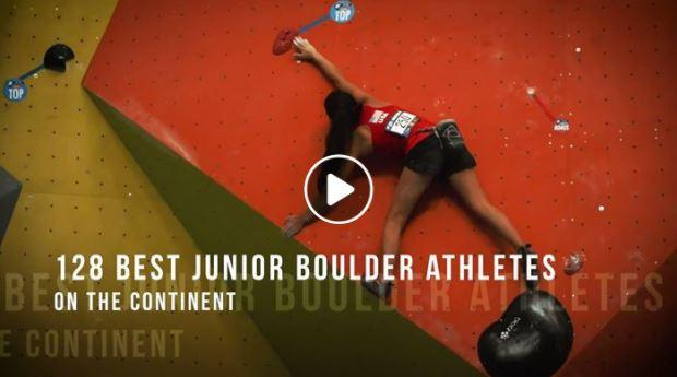 2017 PanAmerican Climbing Youth Championship Montreal Bouldering Highlight Entre Prises